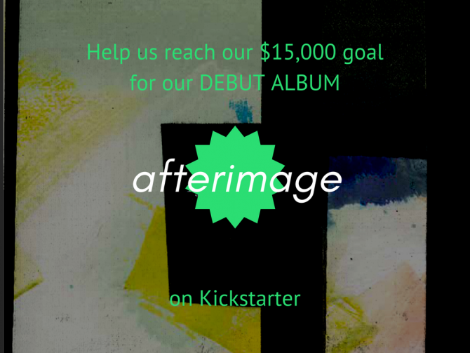 help us reach our $15,000 goal for our DEBUT ALBUMon Kickstarter